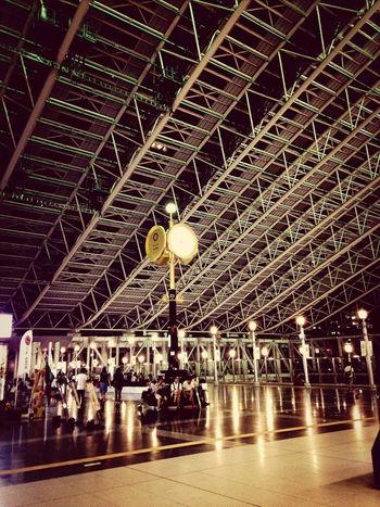 Trainstation Osaka Station Time Waiting