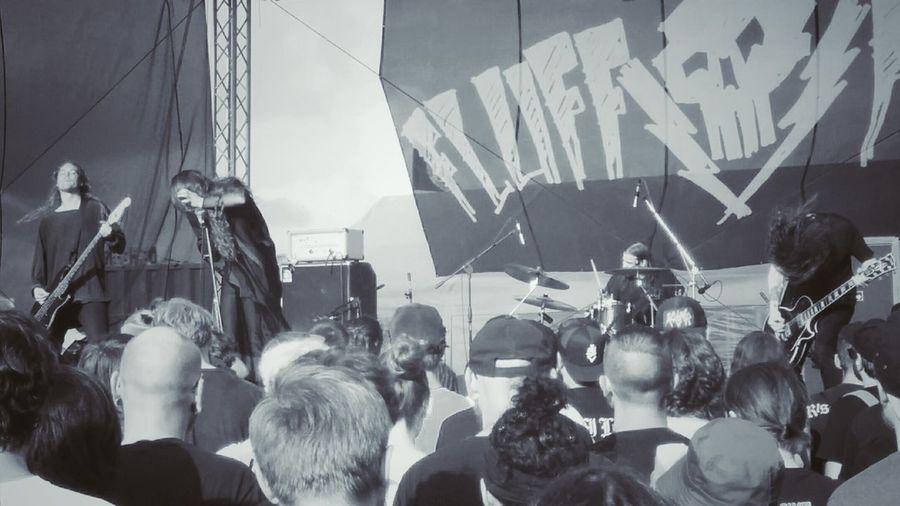 Oathbreaker on Fluff Fest 2016. Oathbreaker Flufffest Festival Metal Crust Blackmetal Band