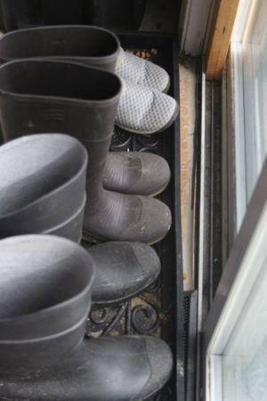 Outside shoes