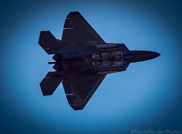 F22 Fighter Jet Raptor Airshow
