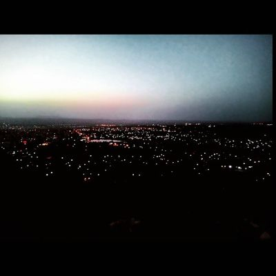 Dawn look from top of bhuj... :)