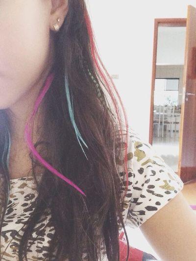 Plumas de cabelo