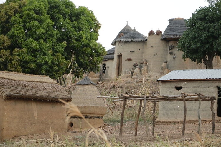 Tata Somba have 2 different kind of houses, with one floor and with two floors. They look like castles. These are in Boukoumbé in the north of Benin. You can also find them in Togo. Architecture Architecture_collection Benin Mud House Tata Somba Travel Travel Photography Traveling Travelling Tree Tribal Africa Architectural Feature Architecturelovers Day Nature Outdoors Sky Travel Destinations Traveler Travelgram Traveller Travelphotography Tree Tribal Village