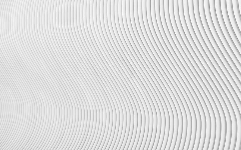 Abstract grey white waves and lines pattern. 3d render 3d Rendering Abstract Aluminum Background Backgrounds Brushed Metal Close-up Curved  Gray Industry Metal No People Pattern Patterns Shiny Silver - Metal Silver Colored Textured  Waves White