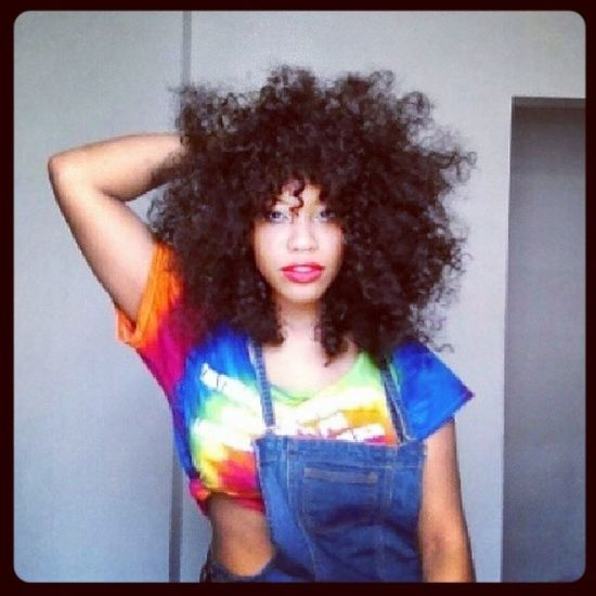 African afro