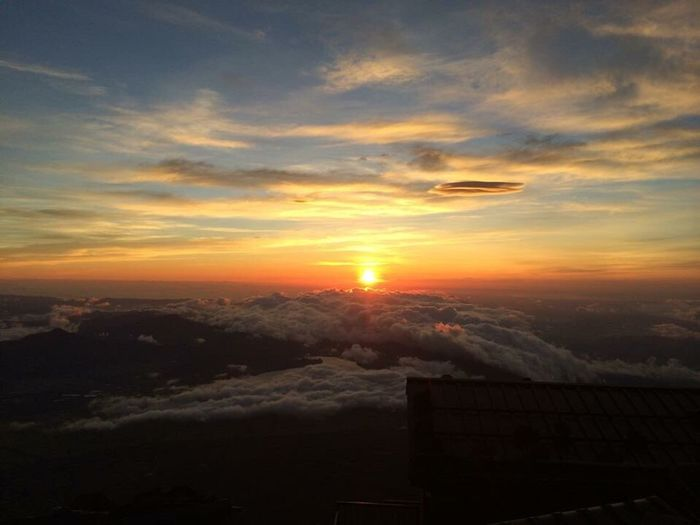 Sunrise from Mt.FUJI