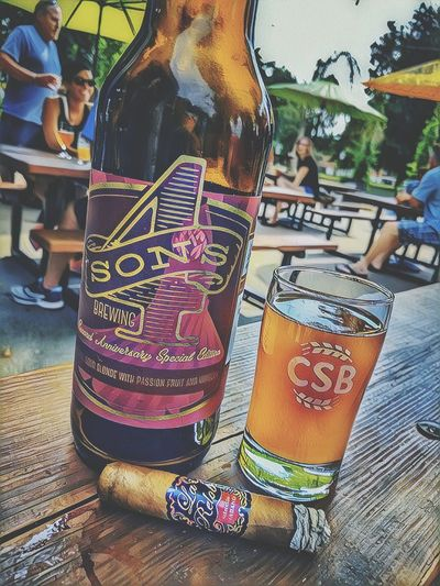 Mmmm sour! Craftbeer Cigars