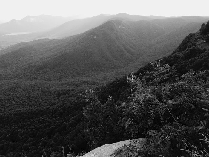 Black And White EyeEm Nature Lover Eyeem Market Appalachian Mountains Mountains Summertime South Carolina Adventure Top Of The Mountain Enjoying Life Hanging Out Feel The Journey EyeEm Best Shots - Black + White First Eyeem Photo Landscapes Galaxy S7 Gs7
