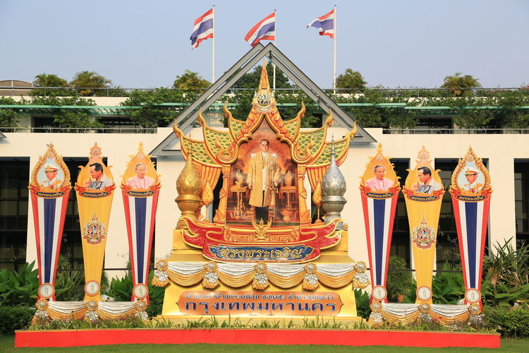 Art Art And Craft Creativity Culture Cultures Human Representation Ornate Place Of Worship Religion Sculpture Spirituality Statue Temple The KING Of Thailand Tradition