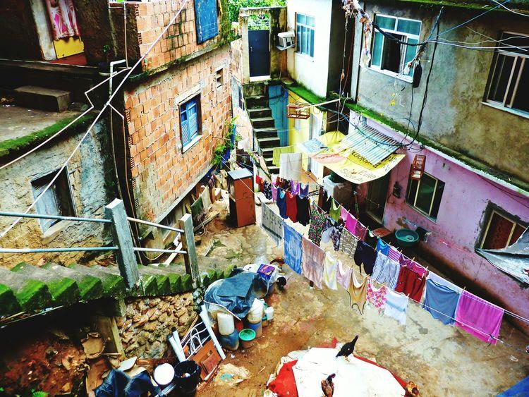 Rocinha Rio De Janeiro Brazil Colour Of Life