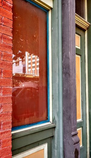 seven colors Architectural Feature Full Frame Wood - Material Door Close-up Building Exterior Built Structure Weathered