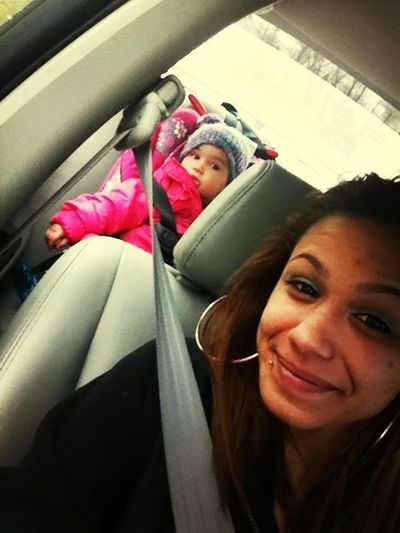 Chilling With Baby Sister
