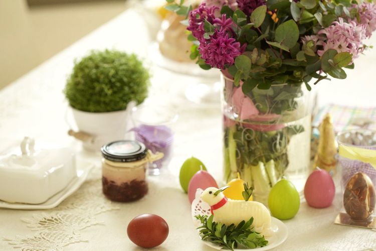 Composition Cuckooflower Easter Flower Food Healthy Lifestyle Home Interior Table Temptation