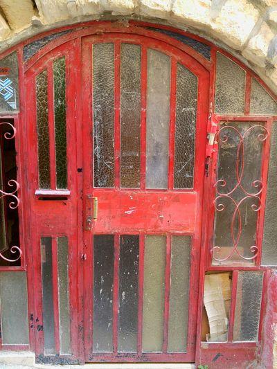 The Red Door Door Israel Mysticism Tsfad Sefad Kaballah