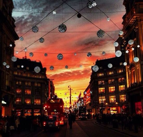 Oxford Street sunset Sunset