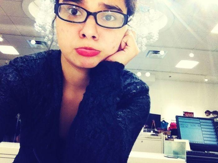 When Boredom struck at work