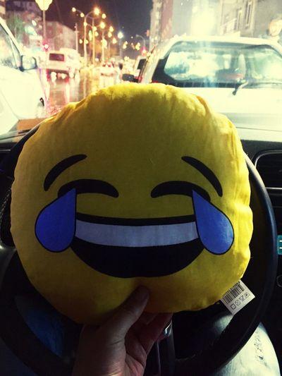 Smile Happy Laugh Laughing City Night Incar Rainy Days Rain People Heyguys Smiley