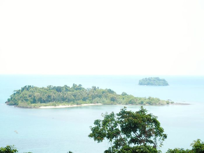 Island in dream. Thailand High Evening HelloEyeEm TRVEL Lovely Outside Sea And Sky Seascape Green Nature Blue Sea Water Surface Water Tree Plant Scenics - Nature Sky Sea Beauty In Nature Land Nature Environment Landscape Island Travel Destinations No People Travel Beach Outdoors Horizon Over Water