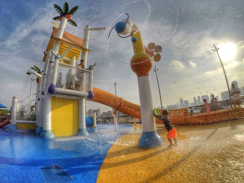 Playground Toddlersofeyem Toddler Photography Kids Being Kids Eyem Best Shots Kids Are Awesome Waterpark Waki Dans Happy Kid Hdr_Collection HRD Effects Goprohero5 Gopro Shots Goprophotography
