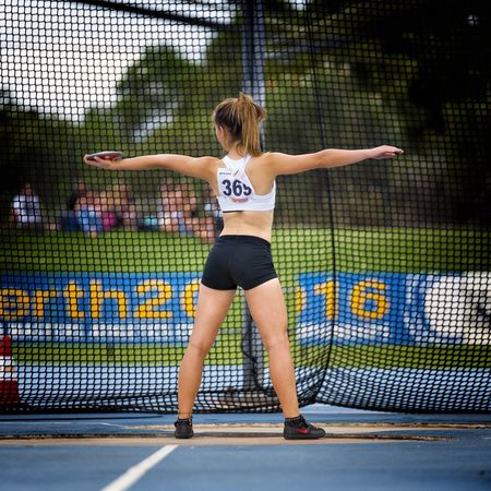 In pursuit of the perfect technique. Athletics Trackandfield Discus