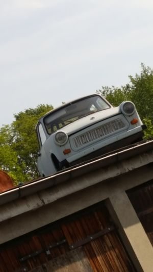 Art And Craft Car Crazy Day No People Outdoors Roof Trabant601