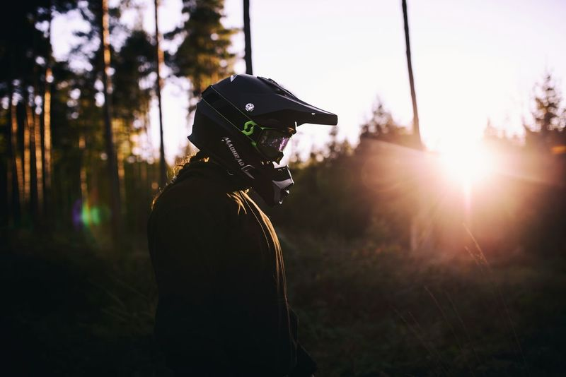 Outdoors The Week On EyeEm Light And Shadow Taking Photos Germany 2017 Photography Silhouette EyeEm Best Shots Check This Out Sunset Mood Motocross Helmet Petrolhead Forest 35mm Sigma 35mm Art Sigma Stuttgart Heilbronn Nikon Nikonphotography Supermoto