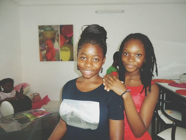 With My Cousine Readytoparty Sabrina And Marie Aude