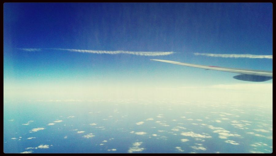 Came back to real world.. Flight ✈ Sky_collection