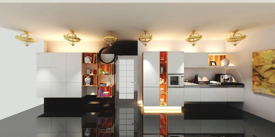 Picoftheday Behance 3D Drawing Design Work Interior Design Kitchenware