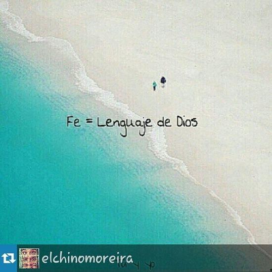 Repost from @elchinomoreira with @repostapp Asi mismo es... GraciasMiDios Ecne Tuyyo Fe = LenguajeDeDios