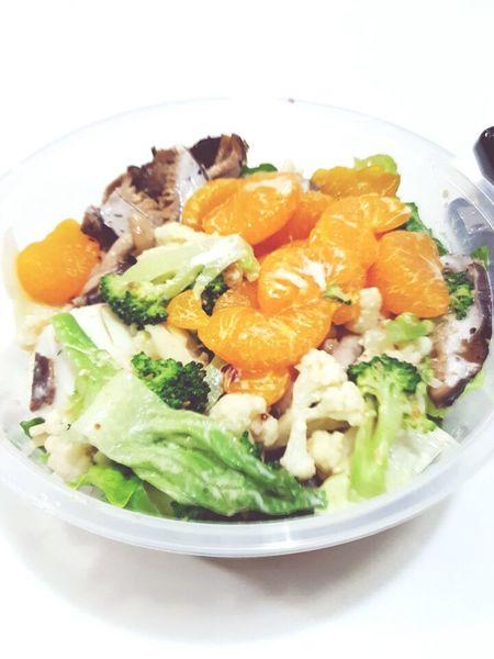 Salad for lunch. Yummz...