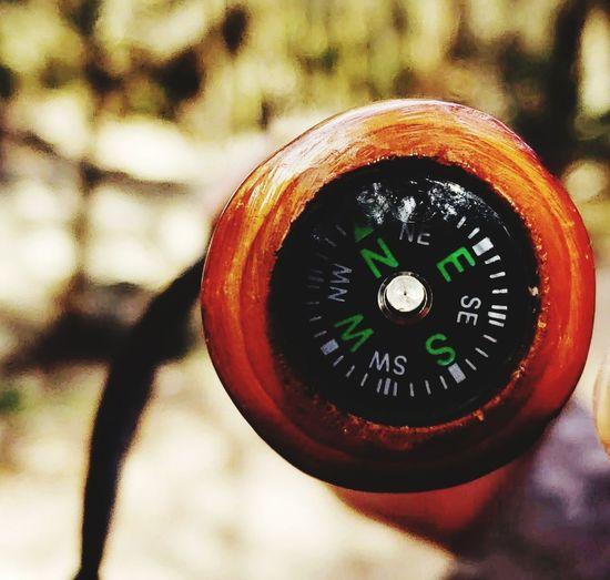 Compass Close-up
