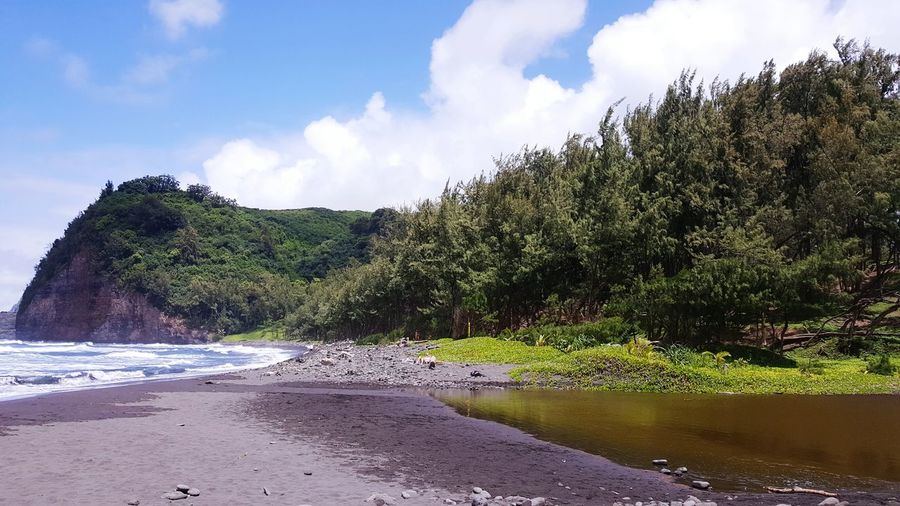 Black Sand Beach traveling hawaii Samsung Note 5