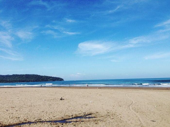Hi! Hanging Out Holiday Enjoying Life Pangandaran Beach Exploreindonesia INDONESIA