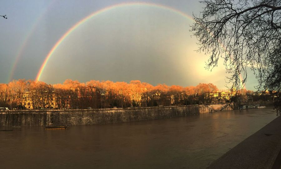 Rainbow Roma Rome Without Filters Nofilter#noedit Senzafiltro Arcobaleno  Iphonesia Iphoneonly