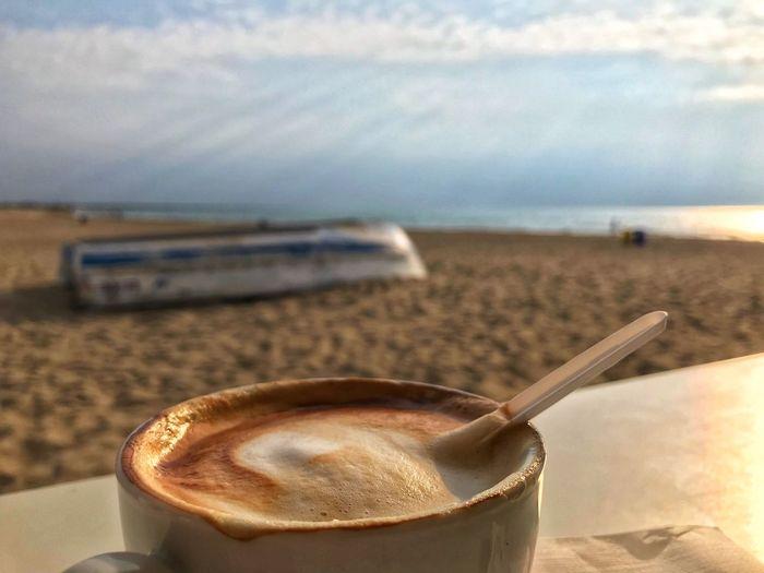 Café am Strand