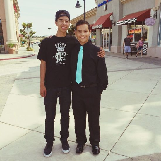 Little brothers 8th grade dance ? he is growing so fast!