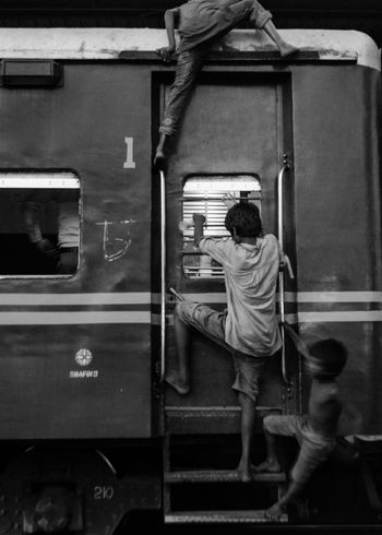 Life around Railway Station (B&W) Animal Bangladesh Blackandwhite Dhaka Documentation Older People People Photography Platform Rail Transportation Railway Railway Station Railway Track Rhsumon Story Worldbest Young Adult