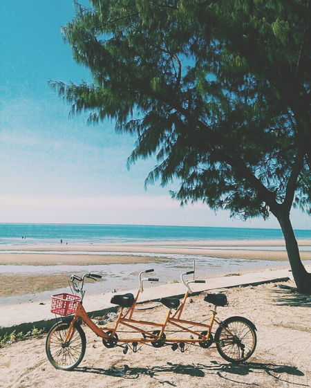 Relaxing ความทรงจำ Hello World Life Is Beautiful Enjoying Life Htcthailand HTC_photography Slowlife Bicycle Sea Travel Cycling Mylife HTC One M9