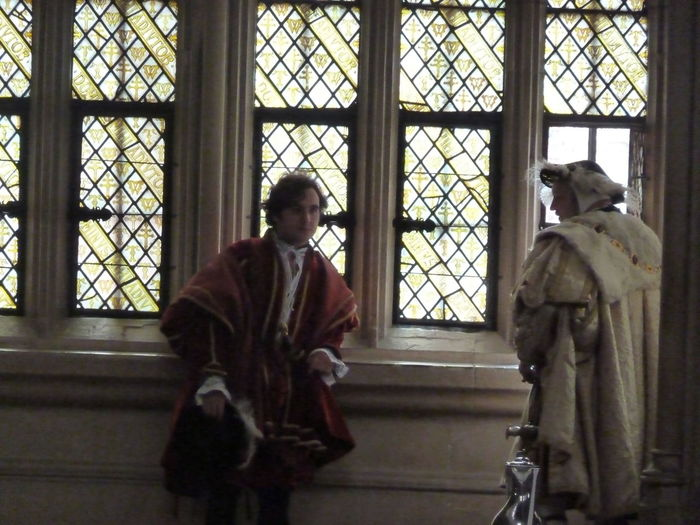 Culpeper Glass Henry VIII Historic House Indoors  Reenactment Window