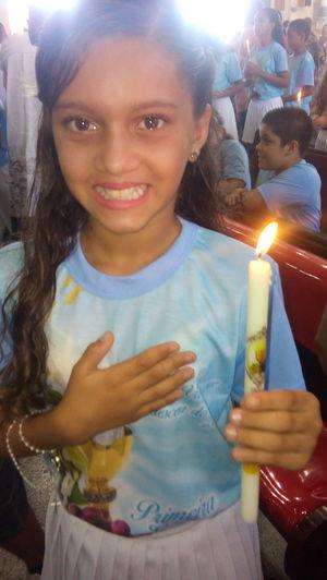 Primeiro encontro com Deus a gente nunca esquece ... ! . First Eyeem Photo Eucharist Deus Iluminated Thrilled Important Day