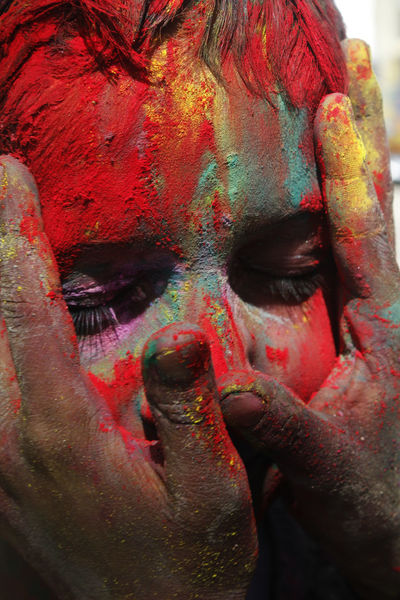 Holi festival signifies the victory of good over evil, the arrival of spring, end of winter, and for many a festive day to meet others, play and laugh, forget and forgive, and repair broken relationships
