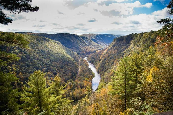 A photo of the Pennsylvania Grand Canyon Landacape Grandcanyon Nature Places To Visit Pennsylvania