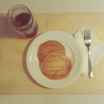 #latergram from #Breakfast. #homemade #pancakes and #lemontea. :-) Tea Foodie KAWAII Pancake Foodporn Latergram Foodstagram Kawaiifood