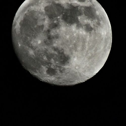 La mia luna quasi piena Stasera Moon Taking Photos Take By Me :)
