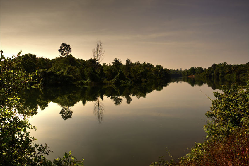 Chakra river Backgrounds Backwaters Day EyeEm Green Greenery India Lake Landscape Natural Parkland Nature New Perspectives No People Outdoors Reflection Reflection Lake Rural Scene Scenics Sky Sublime Living Sunset Travel Photography Tree Water Waterscape