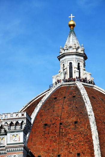 Duomo santa maria del fiore against sky