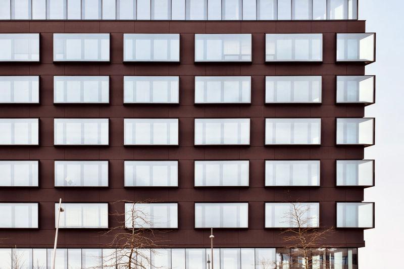 Full frame shot of windows