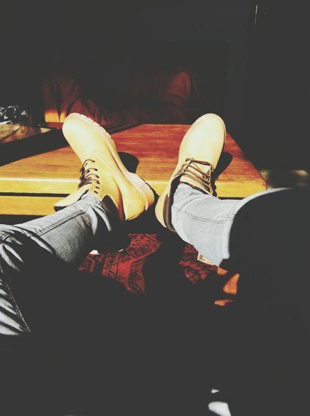 Relaxing Love Isaac Boy Boyfriend Yellow Shoes Pants