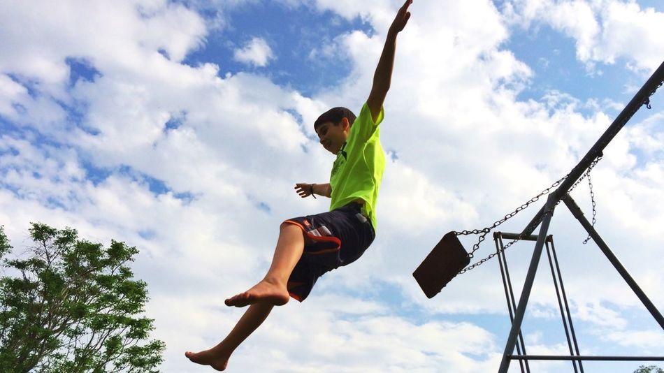 In flight! Swing IPSEmotions